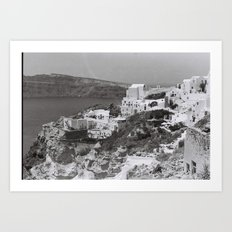 Santorini I Art Print