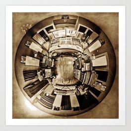 Robert Babicz : Studio 360 [sepia] Art Print