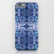 Frozen floral, nature, woodland, hippie, mandala, psychedelic iPhone 6s Slim Case