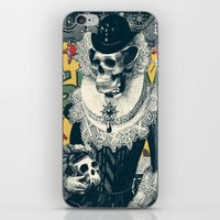 lady iPhone & iPod Skins featuring Lady by Ali GULEC
