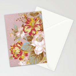 Soft Vintage Floral Stationery Cards
