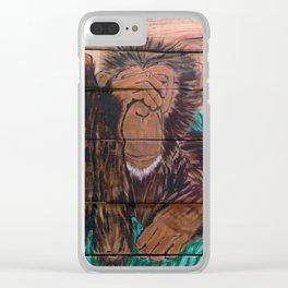 Scream if You Dare Clear iPhone Case