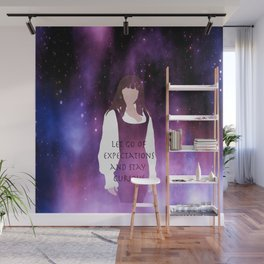Let go of expectations Wall Mural