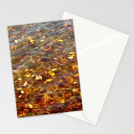 Fall in the Water 56 Stationery Cards