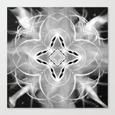 Silver Ornament at Night Canvas Print