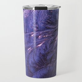 Ice Fractals 2 Travel Mug