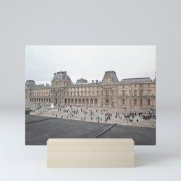 Louvre Museum Mini Art Print