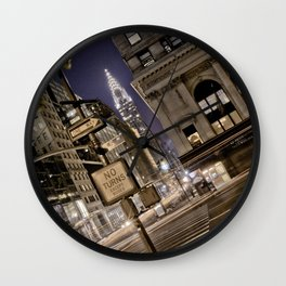 Chrysler Building - New York Artwork / Photography Wall Clock