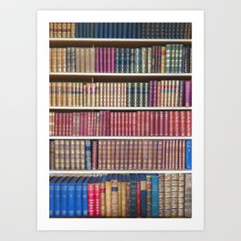 How Bookish are you? Art Print