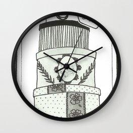Hatboxes Wall Clock