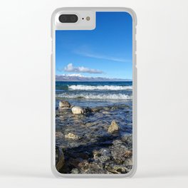 Heavenly Lake Namtso Tibet Clear iPhone Case