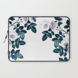 Blackberry Spring Garden - Birds and Bees Floral III Laptop Sleeve