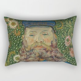 Portrait of Joseph Roulin by Vincent van Gogh Rectangular Pillow