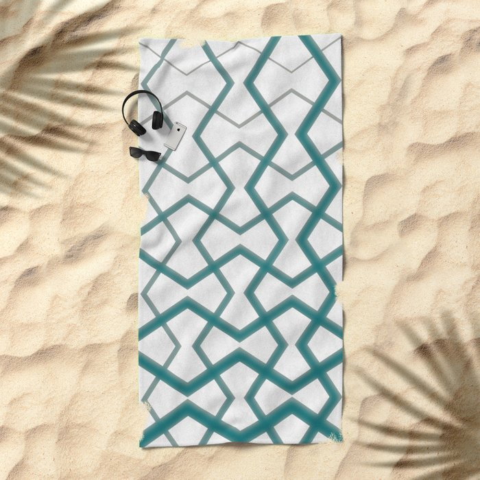 Biscay Bay Under Marble Tiles Beach Towel