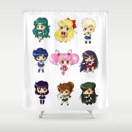 Sailor Scouts Shower Curtain