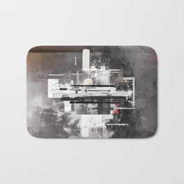 """Hennepin"" Graphic Art Print Bath Mat"