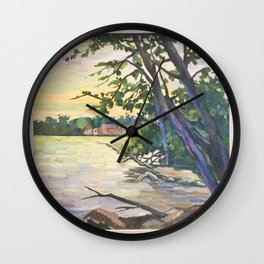 The Wilcox Lake 2016 Wall Clock