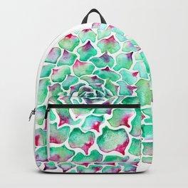 Echeveria Succulent Backpack