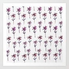 Sweet Floral pattern Art Print