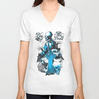 tomb raider V-neck T-shirts featuring Tomb by Tshirt-Factory