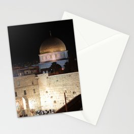 Jerusalem - The Western Wall - kotel Stationery Cards