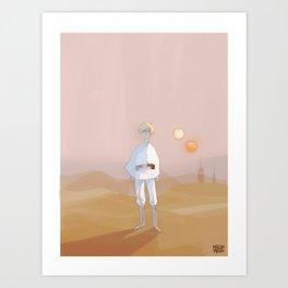 Farmer Boy Art Print