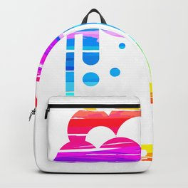 Abstract Beer Illustration Backpack