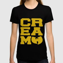 Rza Gza Odb Method Rap Tee Cream Cash Rules Mens Hip Hop T-shirt