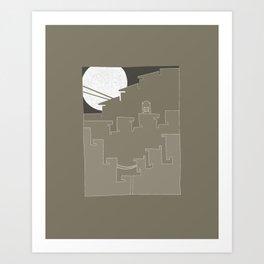 Moonlite Expansion Art Print