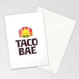 Taco Bae Vintage Print Stationery Cards