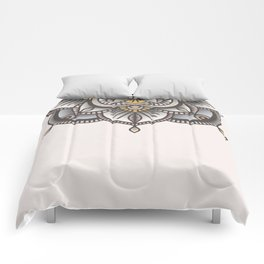 Mandala Beige Comforters
