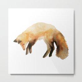 Quick fox Metal Print