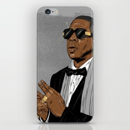 "Jay Z - ""Grey Hova"" iPhone Skin"