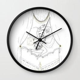 Afternoon sleep Wall Clock
