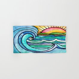 Beachy #society6 #spring #summer Hand & Bath Towel