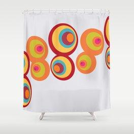 8 Balls Shower Curtain
