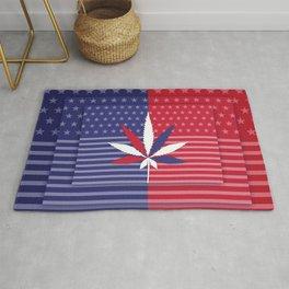 Cannabis USA Rug