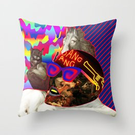 Bang Bang Throw Pillow