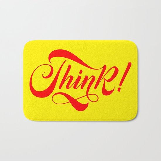 Think! Bath Mat