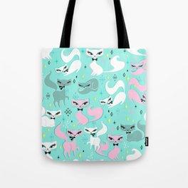 Swanky Kittens Tote Bag