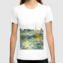 Dublin City Skyline Ireland T-shirt