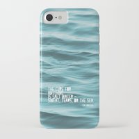 the cure iPhone & iPod Cases featuring SaltWater Cure by Christine Hall