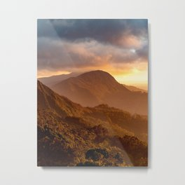 Monserrate Mountains Metal Print