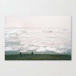Jökulsárlón-Glacier lagoon Canvas Print