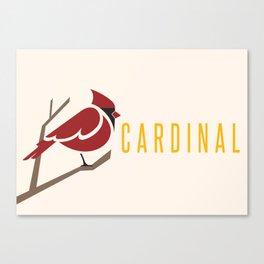 Cardinal Canvas Print