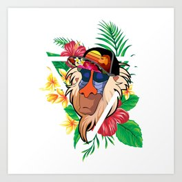 Rafiki Vibes 2 Art Print