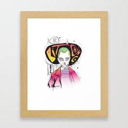 Bitchin Framed Art Print