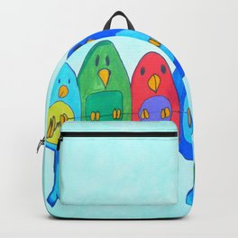 Birds on the wire Backpack