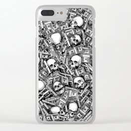 Root Of All Evil Clear iPhone Case