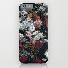 FLOWERS FLOWERS FLOWERS ... JUST FLOWERS (FLORAL) iPhone 6s Slim Case